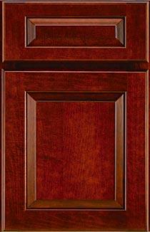 Dark Wood Cabinet Doors