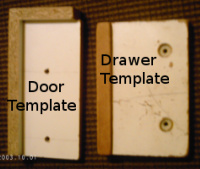 Templates For Drilling Holes In Cabinet Doors