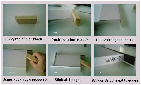 Applying Formica Door Edges