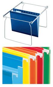 Pendaflex Files and Rack