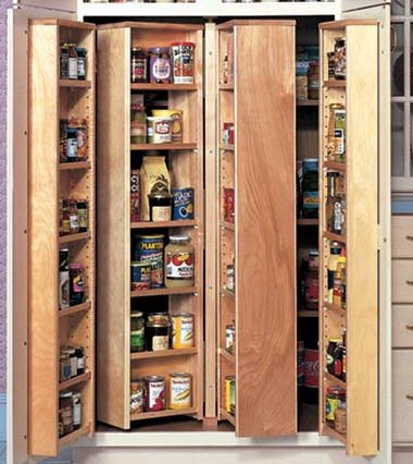 Kitchen pantry cupboard design ideas - Kitchen pantry cabinet design plans ...