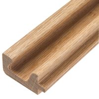 Oak or Maple C-pull