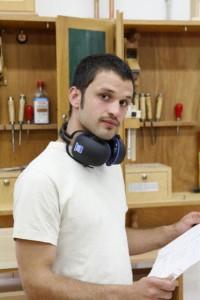 cabinet shop worker