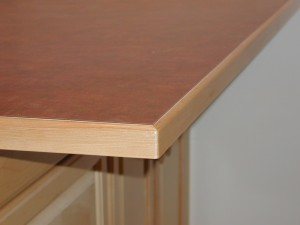 Wood Counter Accent