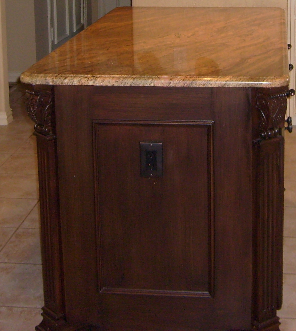 how to fix countertop to base cabinets