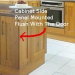 install cabinet door panels