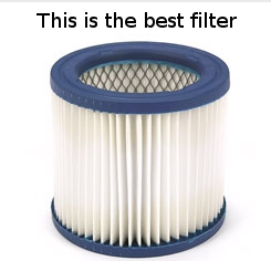 shop vac best filter