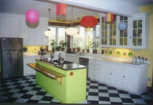 Clashing Colors in Kitchen Cabinet Design