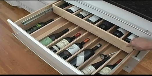 Wine Bottle Drawer