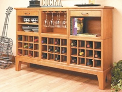 Wine Cabinet Woodworking Plan