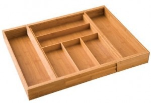 Adjustable Kitchen Cabinet Drawer Organizers