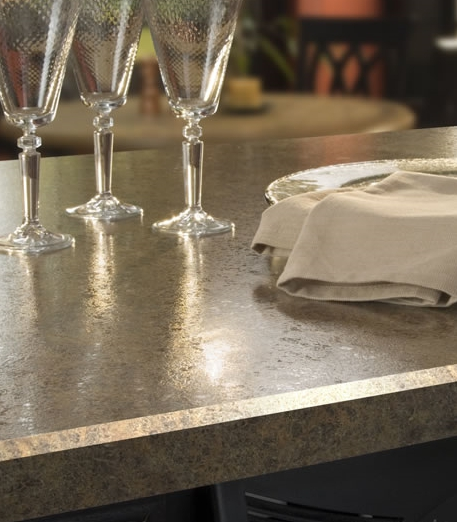Beveled Edge Plastic Laminate Countertop