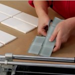 Cutting Glass Backsplash Tiles
