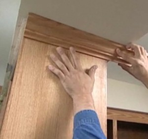 Decorative Cabinet Crown Molding Ideas