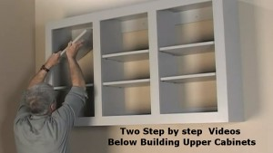 Fabricating Upper Storage Cabinets