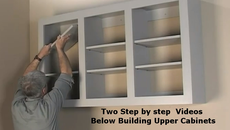 Fabricating Upper Storage Cabinets : building storage cabinet - Cheerinfomania.Com