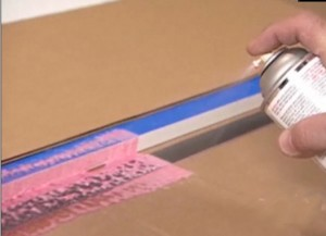 How To Spray Contact Glue