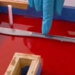 Inserting Object Into Resin Backsplash