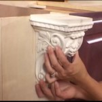 Installing Corbel Molding Counter Supports