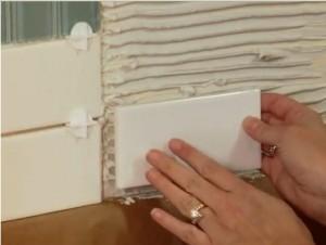 Adhering Kitchen Backsplash Tiles