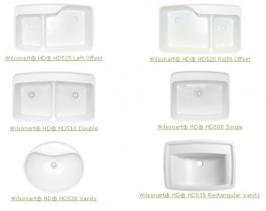 Integrated Sinks For Laminate Countertops