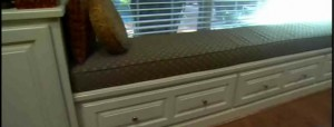 Making Window Seating Area With Drawers Underneith