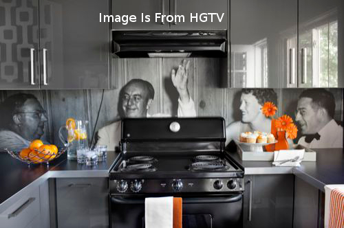 Images of People On Backsplash