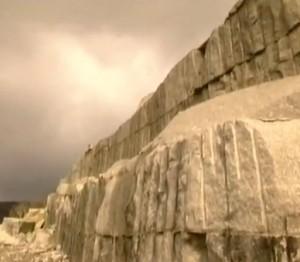Raw Granite In Its Natural State