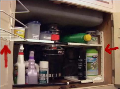 Sink Cabinet Organizer