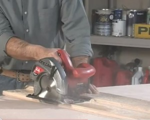 Skill Saw Cross Cutting Jig