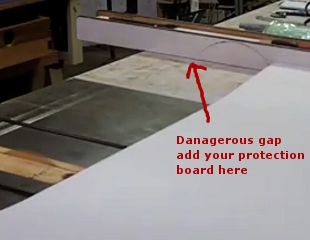 Cutting Formica Sheets On A Table Saw