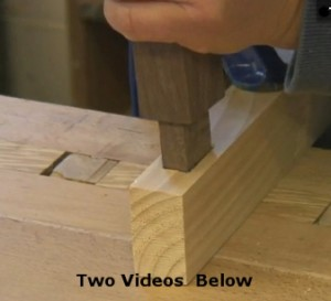 Handmade Mortise And Tenon Jont Tutorial