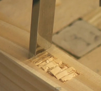 How To Chisel Out A Mortise Joint