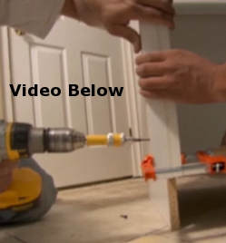 How To Fasten Cabinet Fillers