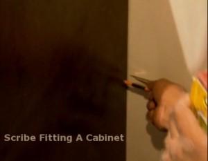 Scribing A Cabinet Filler